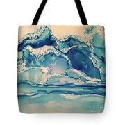 Roaring Waves Tote Bag