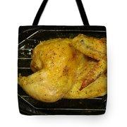 Roasting Half Chicken, 4 Of 4 Tote Bag