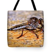 Robber Fly 001 Tote Bag