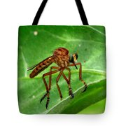 Robber Fly Tote Bag