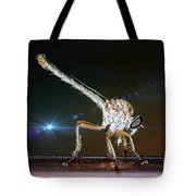 Robber Fly With It's Prey- Efferia Albibarbis Tote Bag