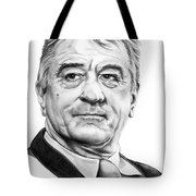 Robert Deniro Tote Bag