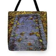 Robert Frosts Grave Tote Bag