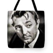 Robert Mitchum Hollywood Actor Tote Bag