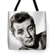 Robert Mitchum, Vintage Actor Tote Bag