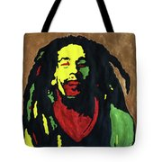 Robert Nesta Marley Tote Bag
