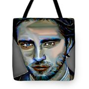 Robert Pattinson Tote Bag