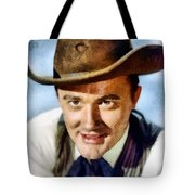 Robert Vaughn, Vintage Actor Tote Bag