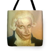 Robespierre Frowns  Tote Bag