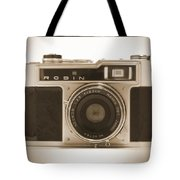Robin 35mm Rangefinder Camera Tote Bag by Mike McGlothlen