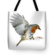 Robin Alighting Tote Bag