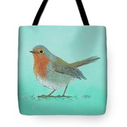 Robin Bird Painting Tote Bag