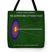 Robin Hood Movie Poster Tote Bag