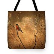 Robin Tote Bag by Lois Bryan