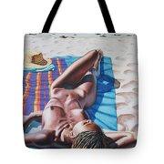 Robin At The Beach Tote Bag