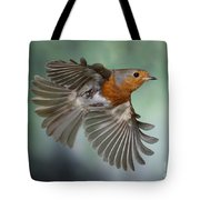 Robin On The Wing Tote Bag
