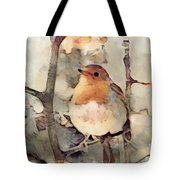 Robin Song Of Spring Tote Bag