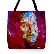 Robin Williams Paint Splatter Tote Bag