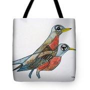 Robins Partner Tote Bag