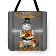 Robo-x9 The Pilgrim Tote Bag