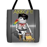 Robo-x9 The Pirate Tote Bag