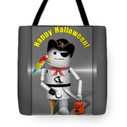 Robo-x9 Trick Or Treat Time Tote Bag