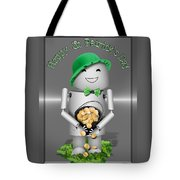 Robo-x9 With A Pot Of Gold Tote Bag