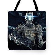 Robot Assassin Tote Bag