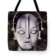 Robot From Metropolis Tote Bag