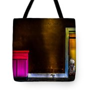 Robot In The Closet Tote Bag