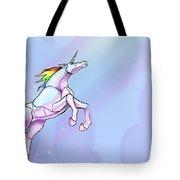 Robot Unicorn Attack Tote Bag
