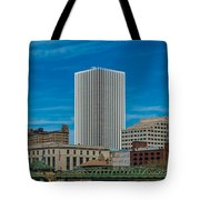 Rochester Across The River Tote Bag