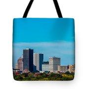Rochester Ny Skyline Tote Bag