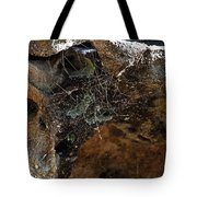 Rock Abstract With A Web Tote Bag