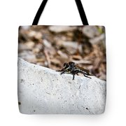Rock And Robber Fly Tote Bag