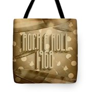 Rock And Roll 1968 Tote Bag