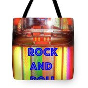 Rock And Roll Jukebox Tote Bag