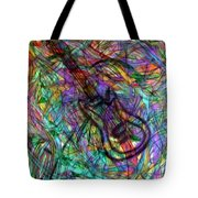 Rock And Roll Party Tote Bag