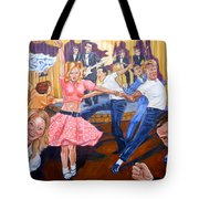 Rock Around With Ollie Vee Tote Bag
