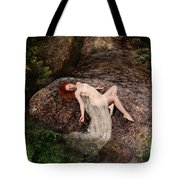 Rock Bathing Tote Bag