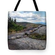 Rock Boundaries On Casecade Mountain Keene Ny New York Tote Bag