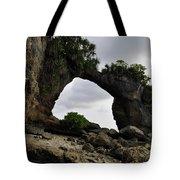 Rock Bridge At Neil Island Tote Bag