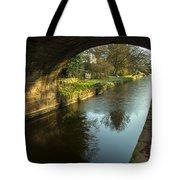 Rock Bridge Shadows  Tote Bag