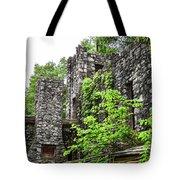 Rock Castle Fireplace Tote Bag