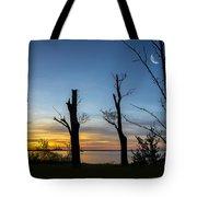 Rock Creek Silhouette Tote Bag