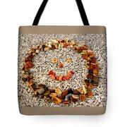 Rock Face On Granite Tote Bag by Kathy K McClellan
