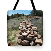 Rock Fence Tote Bag