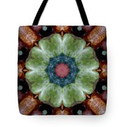 Rock Flower Tote Bag