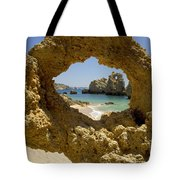 Rock Formations, Albufeira Tote Bag