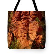 Rock Formations Created By Erosion Tote Bag